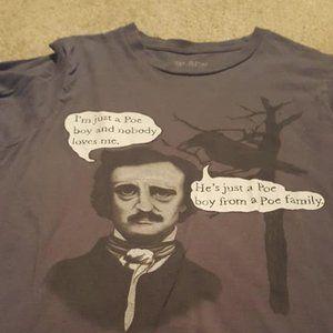 Edgar Allan Poe Queen Parody T Shirt